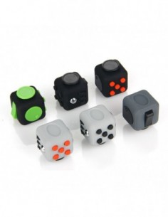ABS Fidget Cube Stress Relief Focus Toy 0