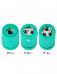 CARRYS Replacement Coil for Green Tank 5pcs 0