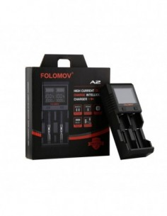 Folomov A2 Smart Quick Charger with LCD Screen 0