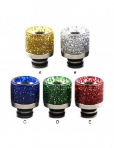 Stainless Steel Sequins 510 Drip Tip 0275 0