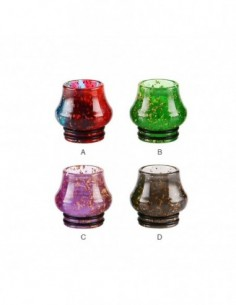 Sequins Resin Bulb 810 Drip Tip 0290 0
