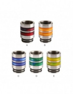 Stainless Steel Resin Ring 810 Drip Tip 0271 0