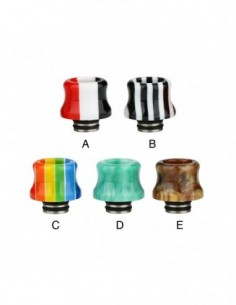 Resin Stainless Steel 510 Drip Tip 0316 0