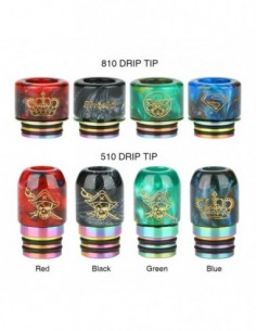 Shield Cig 510 and 810 Resin Drip Tip 0