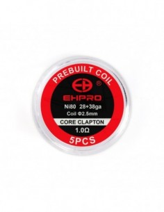 Ehpro Pre-made Coils for True RTA 5pcs 0