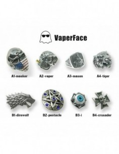 CARRYS VaperFace Titanium Steel Ring for Mod 1pc 0