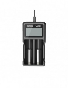 Xtar VC2 2-slot Smart Charger with LCD Screen 0