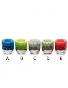 Noctilucent 810 Resin and Stainless Steel Drip Tip 8# 0