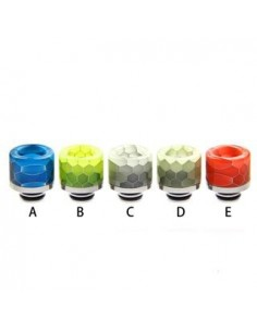 Noctilucent 510 Resin and Stainless Steel Drip Tip 6# 0