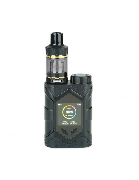 Vaptio Wall Crawler 80W TC Kit with Throne Tank 0