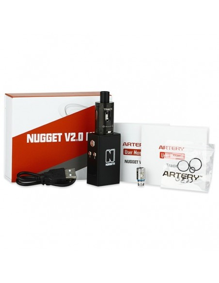 Artery Nugget V2 50W TC Kit With Trace Tank 1500mAh 1