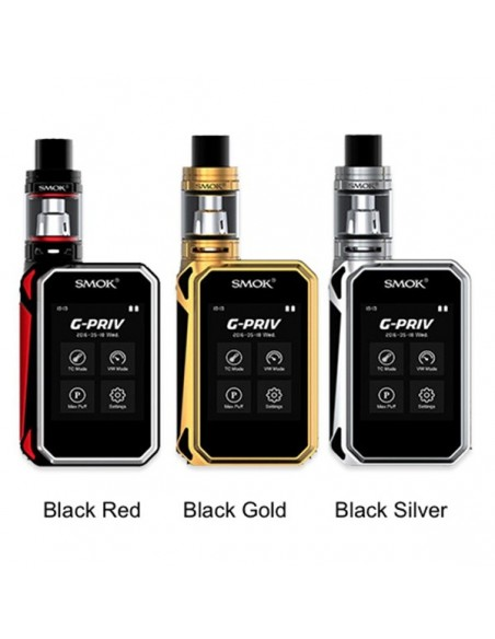 SMOK G-PRIV 220 With TFV8 Big Baby Starter Kit 0