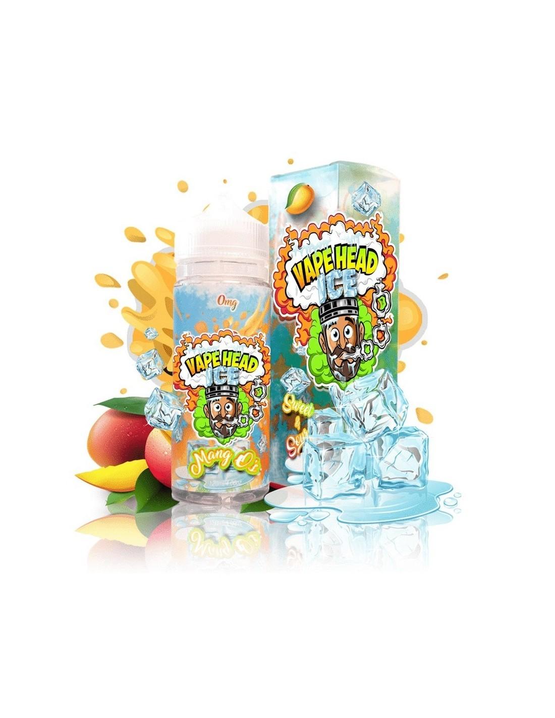 Vape Heads Premium VG E-liquid E-juice 120ml(0mg/ml, Ice Mang Os) | Vape Store US