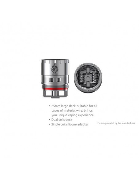 SMOK V12 RBA Coil for TFV12 V12 RBA:0 1pcs:1 US:2 US