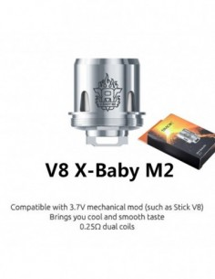 SMOK TFV8 X-Baby Coil 3pcs X-Baby M2 0.25ohm:0 3pcs:1 Standard:2 US:3 US