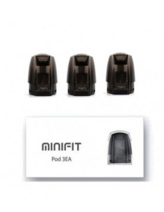 JUSTFOG MINIFIT Pod 1.5ml 3pcs Pod 1.6ohm:0 3pcs:1 Standard:2 US:3 US