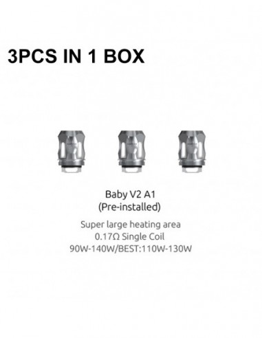 SMOK TFV8 Baby V2 Coil 3pcs Baby V2-A1 SS:0 3pcs:1 US:2 US