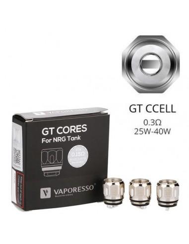 Vaporesso NRG GT Core Coil 3pcs GT CCell Coil 0.5ohm:0 3pcs:1 Standard:2 US:3 US