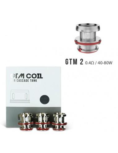 Vaporesso GTM EUC Coil for Cascade 3pcs GTM 2 Coil 0.4ohm:0 3pcs:1 US:2 US