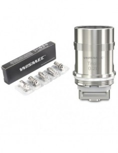 WISMEC Triple Head for Amor Mini/Vicino/Reux Mini/Elabo 5pcs Triple 0.2ohm Head:0 5pcs:1 US:2 US