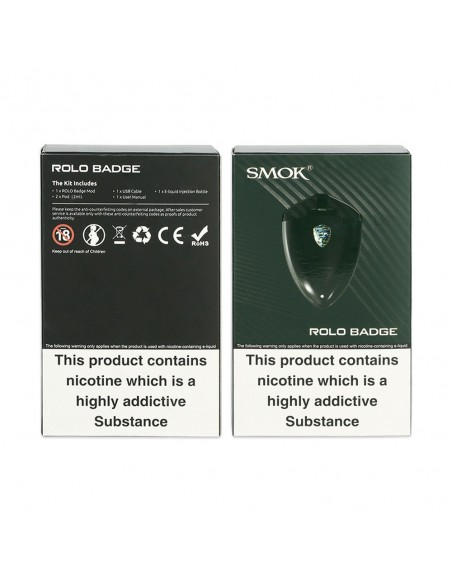 SMOK Rolo Badge Starter Kit 250mAh 15