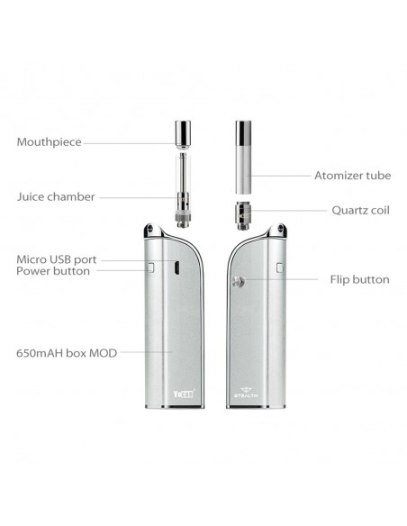 Yocan Stealth 2-in-1 Kit 650mAh 12