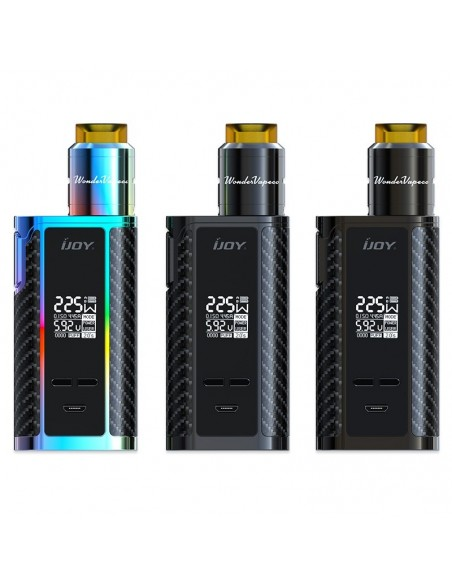 IJOY Captain PD1865 225W with Wondervape RDA TC Kit 0