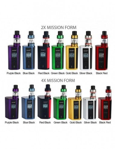 SMOK GX2/4 TC Kit with TFV8 Big Baby 0