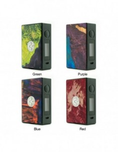 Asmodus EOS 180W Stabilized Wood Touch Screen TC Box MOD 0