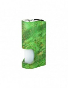 Arctic Dolphin Amber Stabilized Wood Squonk MOD 1