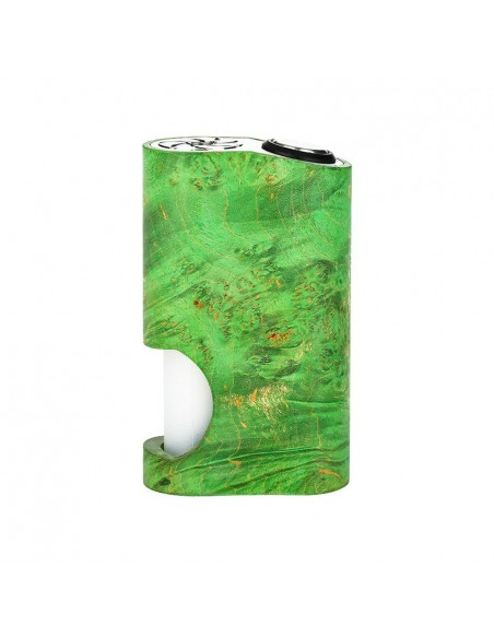 Arctic Dolphin Amber Stabilized Wood Squonk MOD 5