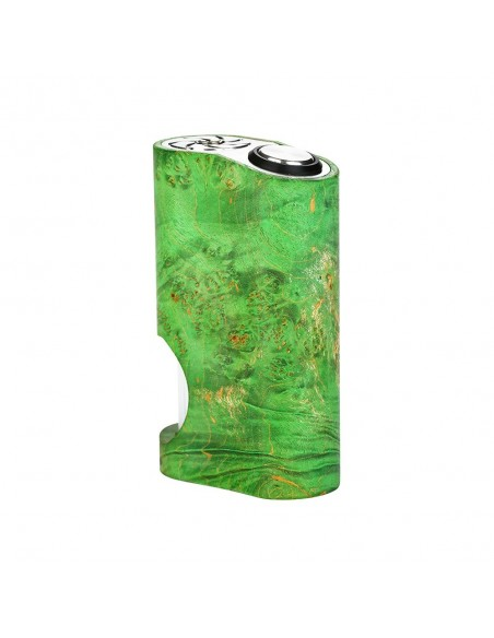 Arctic Dolphin Amber Stabilized Wood Squonk MOD 6