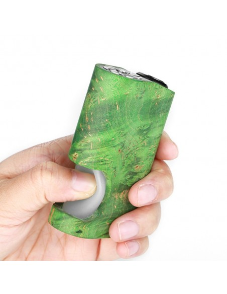 Arctic Dolphin Amber Stabilized Wood Squonk MOD 9