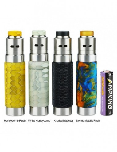 WISMEC Reuleaux RX Machina 20700 Mech MOD with Guillotine RDA Kit 3000mAh 0