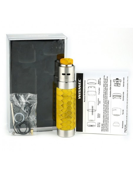 WISMEC Reuleaux RX Machina 20700 Mech MOD with Guillotine RDA Kit 3000mAh 3