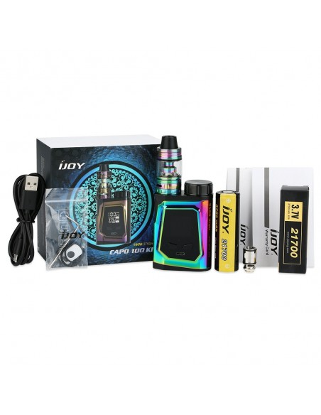 IJOY CAPO 100 with Captain Mini 21700 TC Kit 3750mAh 4